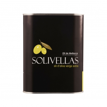 Solivellas Extra Natives Olivenöl 3,0l Tin Box, Ernte 2018/2019